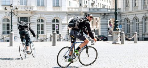 Livreur à vélo Requalification contrat de travail